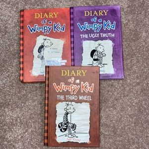 Diary of a wimpy kid vguc hard cover